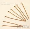 Комплект пинов - гвоздиков (цвет - медь) 30х0,7 мм, 20 штук ()