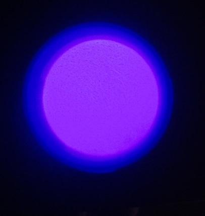 Power Glow Violet Neon Cветонакопительный пигмент Фиолетовый неон 100 гр. пл. банка