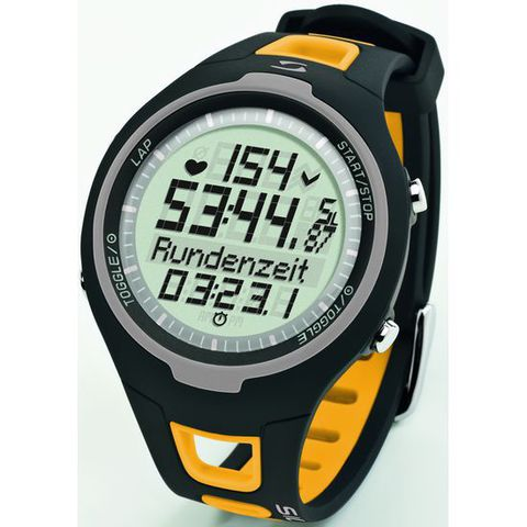 Купить Наручные часы Sigma 21511 с пульсометром PC 15.11 yellow по доступной цене