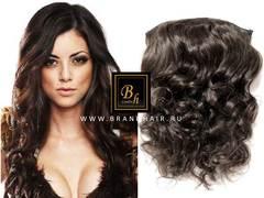 Набор волос Easy Hair-Оттенок 2A-горький шоколад-38 CM