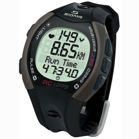 Купить Наручные часы Sigma 25102 с пульсометром RC 12.09 black по доступной цене