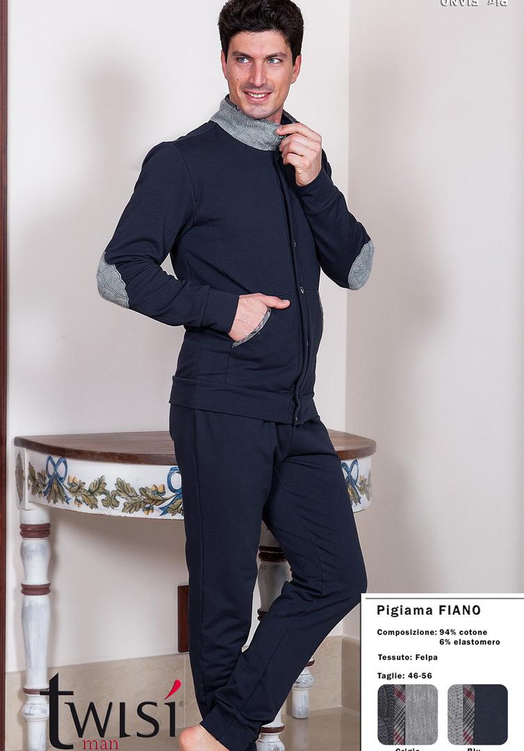 Мужской домашний костюм на пуговицах Twisi (Домашние костюмы и пижамы)