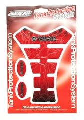 Наклейка на бак TankProtectionSystem PRO GRIP Yamaha RED #15