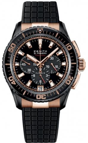 Купить Наручные золотые часы Zenith 85.2060.405/23.R515 El Primero по доступной цене