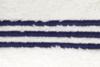 Полотенце 70х140 Casual Avenue Toscana с синими полосками слоновой кости