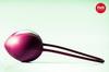 Силиконовый вагинальный шарик со смещенным центром тяжести Smartball Uno (d. 3,6 см.; вес)