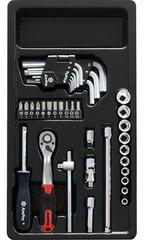 Набор инструмента в ложементе AmPro (37 предметов) T45030