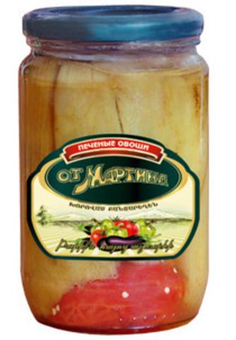 Овощи печеные Мартин, 680г