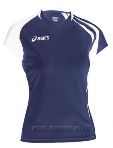 Asics T-Shirt Fanny Lady футболка волейбольная женская dark
