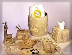 Стакан для зубных щёток детский Animal Crackers от Creative Bath