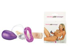 Женская помпа для клитора Vibrating Clit Massager