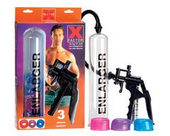 Мужская вакуумная помпа для увеличения члена X Factor Enlarger (6,5 х 30 см.)