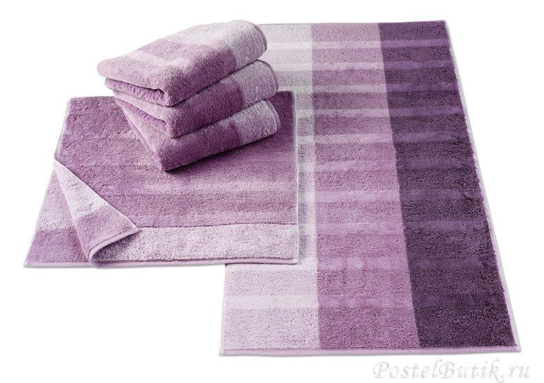 Полотенце 50x100 Cawo Noblesse 1055 Shades фиолетовое