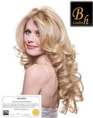 Вьющиеся волосы оттенок 613-блонд-52CM
