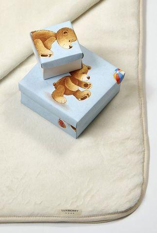 Плед детский 100х140 Luxberry Lux 269 03 голубой