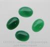 Кабошон овальный Агат зеленый, 18х13х5,5 мм