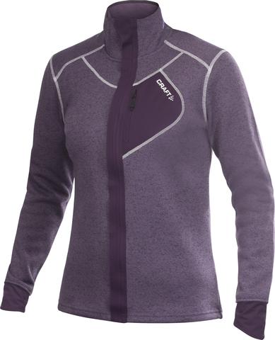 Толстовка Craft Warm женская фиолетовая