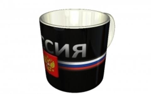 "Кружка чайная ""Россия. Герб"""