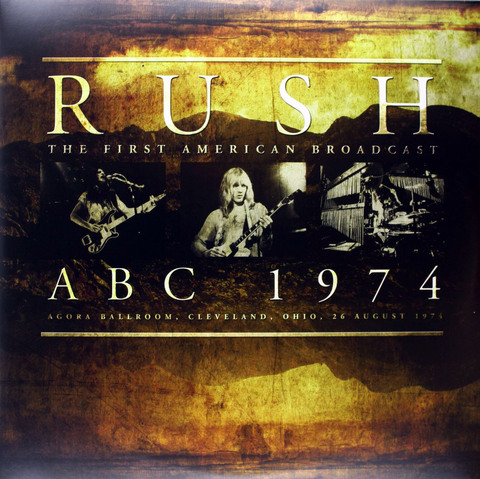 Rush / ABC 1974 (2LP)