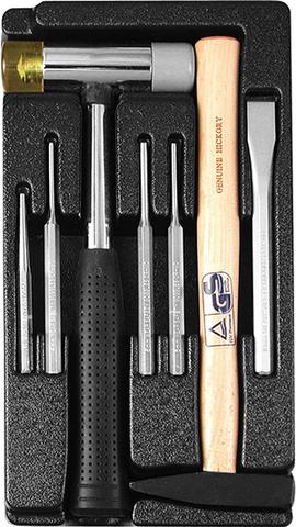 Набор инструмента в ложементе AmPro (7 предметов) T20680