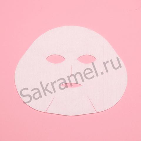 Маска косметологическая (Полиэтилен, прозрачный, 25 шт/упк)