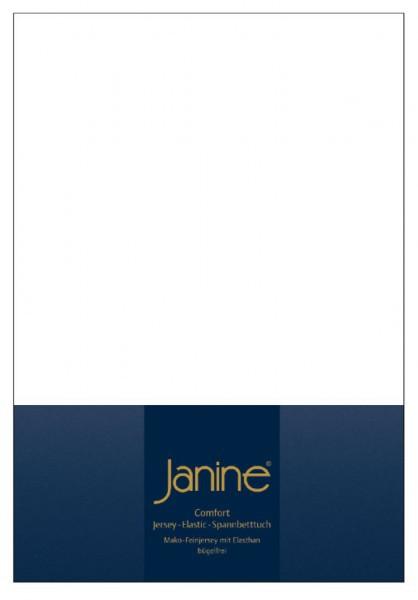 Элитная простыня на резинке Elastic-Jersey 5002 белая от Janine