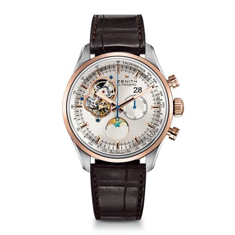 Купить Наручные золотые часы Zenith 51.2160.4047/01.C713 El Primero по доступной цене