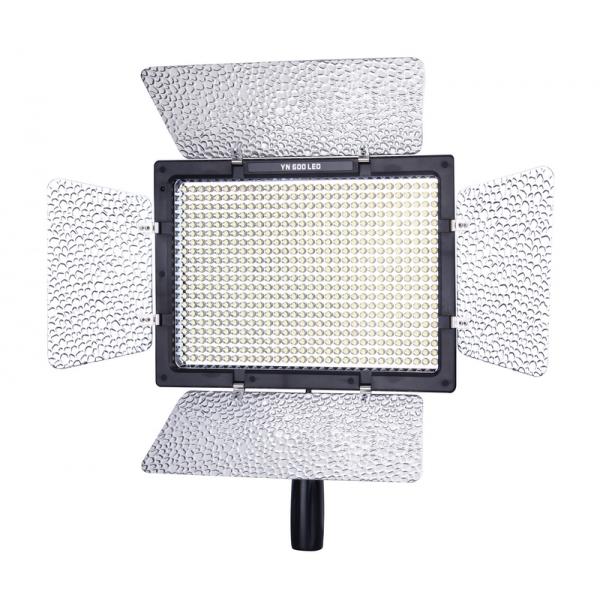 YONGNUO YN-600(3200K-5500K) LED Pro Накамерный свет Hood+Пулть управление