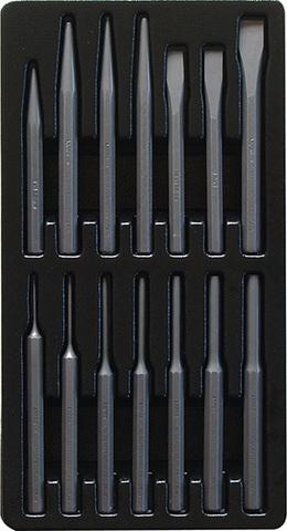 Набор инструмента в ложементе AmPro (14 предметов) T29656