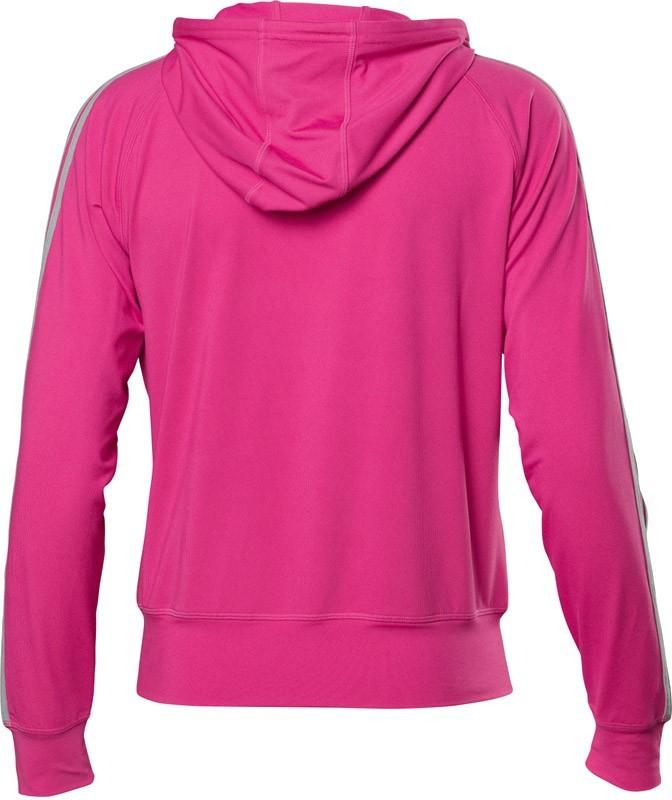 Женская толстовка Asics Jersey Warm Up Jacket розовая (110593 0261) фото