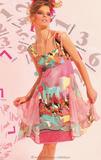 Летнее платье с бусами Save The Queen