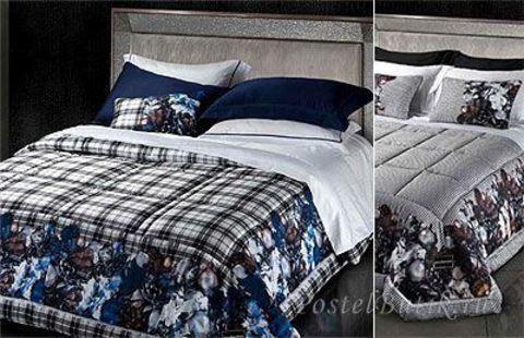 Постельное белье 2 спальное RoccoBarocco Romantik Dark