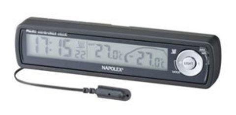 Часы с термометром in/out и подсветкой FIZZ-855