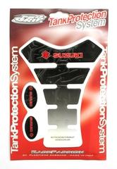 Наклейка на бак TankProtectionSystem PRO GRIP Suzuki Black/White #16