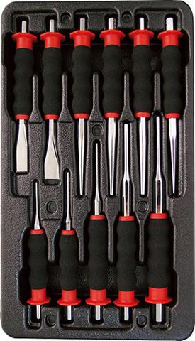Набор инструмента в ложементе AmPro (11 предметов) T29654