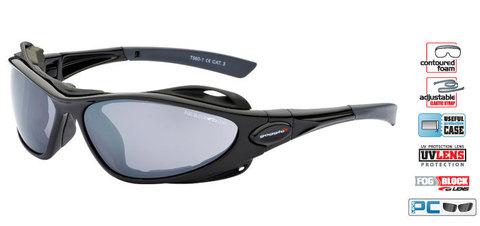 Солнцезащитные очки goggle AYURA black