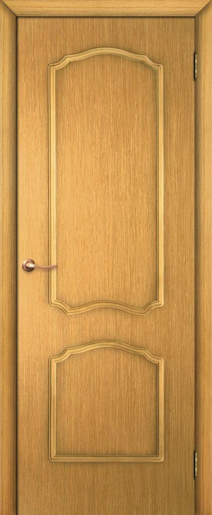 Двери шнированные цвета дуб
