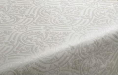 Элитная скатерть Damasco 012 bianco от Roberto Cavalli