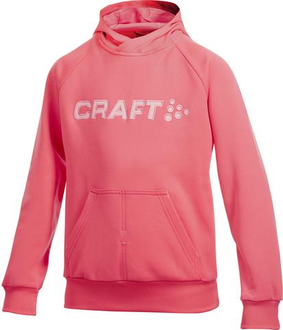 Толстовка Craft Flex Hood детская розовая