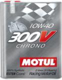 MOTUL 300V Chrono 10W-40 100% SYNTHESE моторное масло  для SUBARU STI, GT Japan.