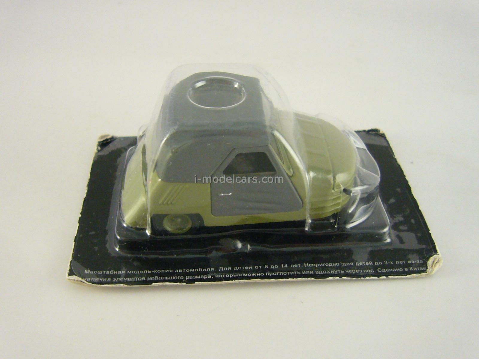 SMZ-S1L dark green 1:43 DeAgostini Auto Legends USSR #40