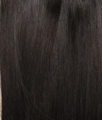 Накладка Magic Strands. Длина 70 см  -Оттенок 1B-Темно коричневый с черным отливом