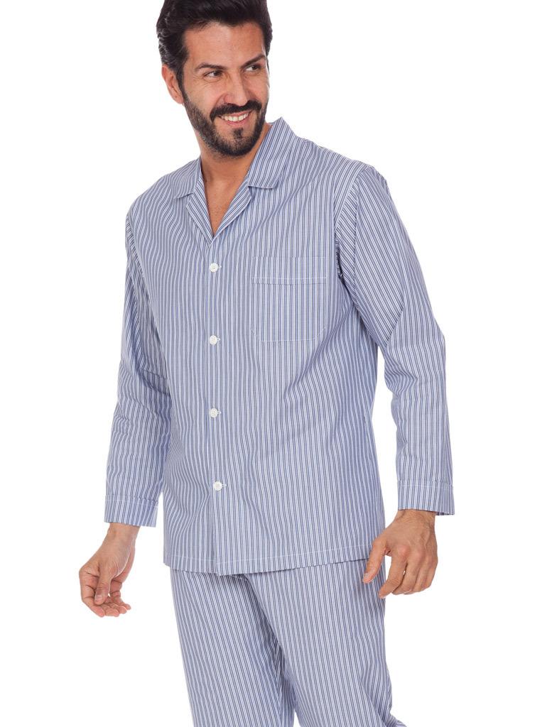 Мужская пижама из хлопка B&B (Домашние костюмы и пижамы)