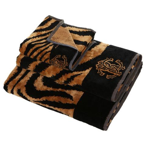 Набор полотенец 2 шт Roberto Cavalli Zebra коричневый