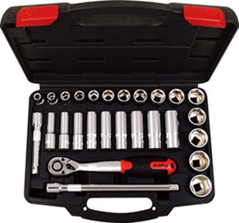 Набор инструмента AmPro (27 предметов) T45530