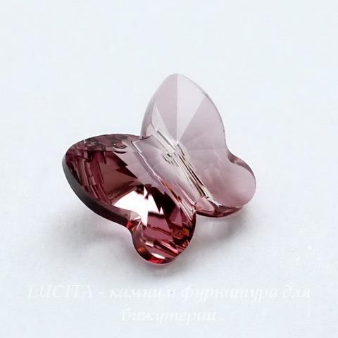 5754 Бусина в виде бабочки Сваровски Crystal Antique Pink  8 мм