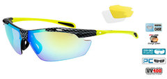 Спортивные очки goggle RAVEN race black/yellow