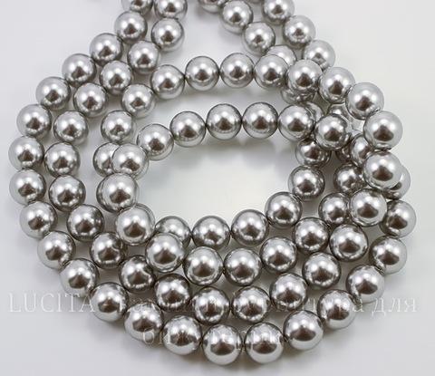 5810 Хрустальный жемчуг Сваровски Crystal Light Grey круглый 10 мм