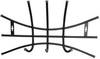Вешалка настенная на  3 крючка ВНП2 (цвет черный), Ника, г. Ижевск