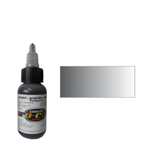 64079 Краска для аэрографии Pro-Color Graphite (ГРАФИТ) 30мл. прозрачный